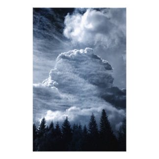 Clouds Temple Stationery