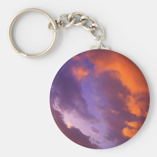 Clouds The Blue Divide Key Chains