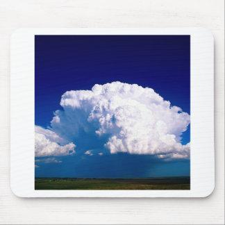 Clouds Thunderhead Sidney Nebraska Mouse Pads