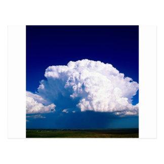 Clouds Thunderhead Sidney Nebraska Postcard