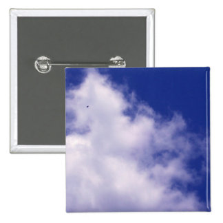 Clouds with Bird Button