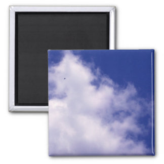 Clouds with Bird Magnet
