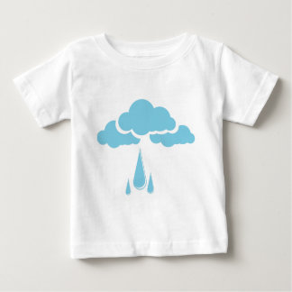 Clouds with drizzle baby T-Shirt