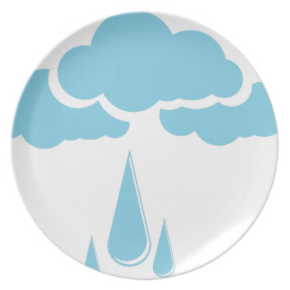 Clouds with drizzle plate