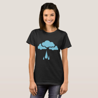 Clouds with drizzle T shirt