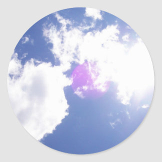 Clouds with Orb Stickers