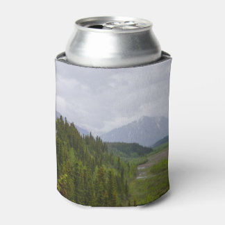 Cloudy At Denali Can Cooler