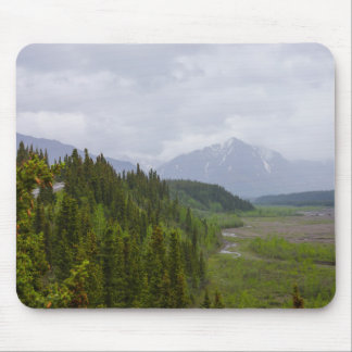 Cloudy At Denali Mouse Pad