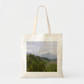 Cloudy At Denali Tote Bag