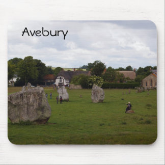 Cloudy Avebury Mouse Pad