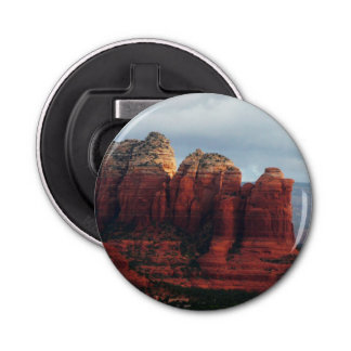 Cloudy Coffee Pot Rock in Sedona Arizona Bottle Opener