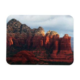 Cloudy Coffee Pot Rock in Sedona Arizona Magnet