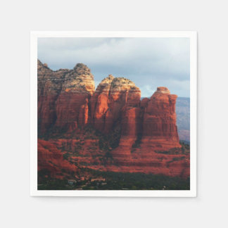 Cloudy Coffee Pot Rock in Sedona Arizona Paper Serviettes
