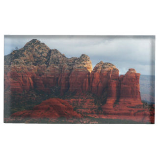 Cloudy Coffee Pot Rock in Sedona Arizona Place Card Holder