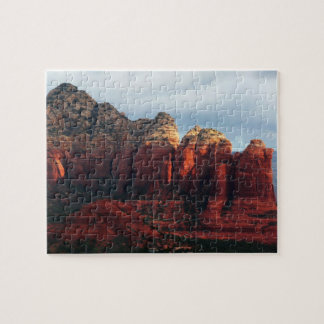 Cloudy Coffee Pot Rock in Sedona Arizona Puzzle