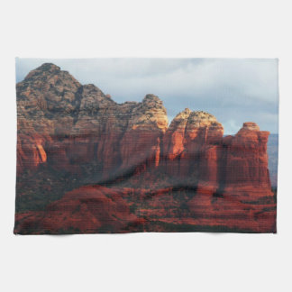Cloudy Coffee Pot Rock in Sedona Arizona Tea Towel
