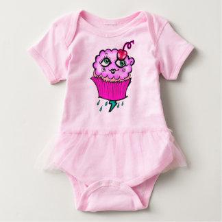 Cloudy Cupcake Baby Tutu Romper Baby Bodysuit
