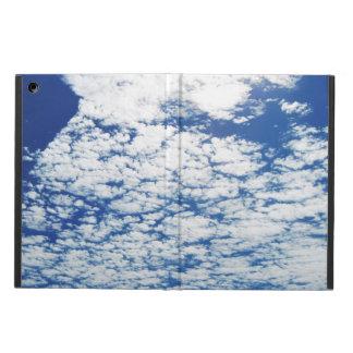 Cloudy Deep Blue Sky Cover For iPad Air