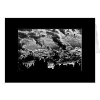 Cloudy Evening Card