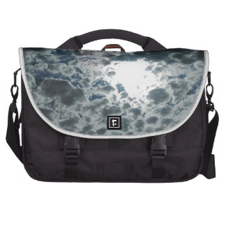 Cloudy Laptop Messenger Bag