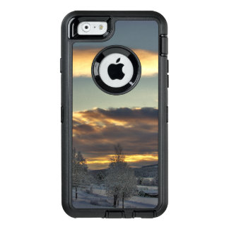 Cloudy Mothership OtterBox Defender iPhone Case