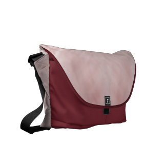 Cloudy Pink Abstract Commuter Bags