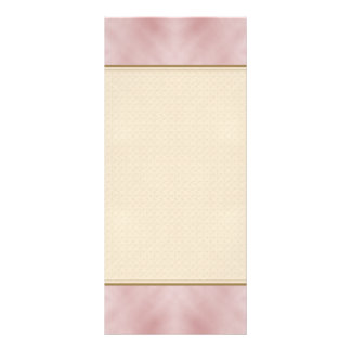 Cloudy Pink Abstract Personalized Rack Card