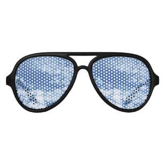 Cloudy Sky Aviator Sunglasses