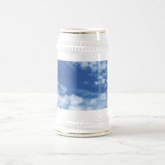 Cloudy Sky Beer Stein