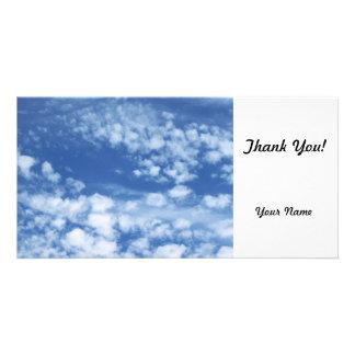 Cloudy Sky Customised Photo Card
