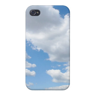 Cloudy Sky Cover For iPhone 4