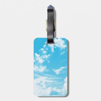 Cloudy Sky Luggage Tag