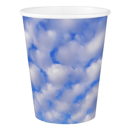 Cloudy Sky Paper Cup