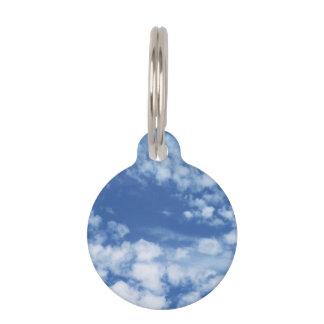 Cloudy Sky Pet Tag