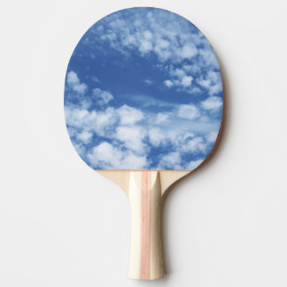 Cloudy Sky Ping Pong Paddle