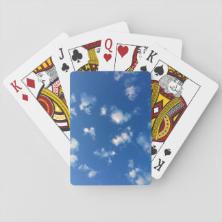 cloudy sky playing cards
