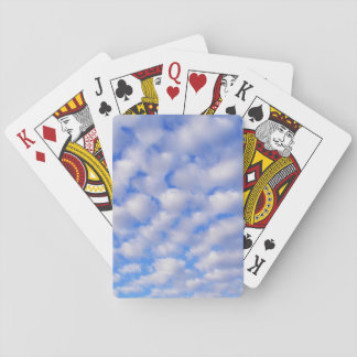 Cloudy Sky Poker Cards