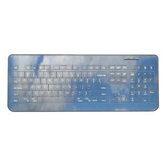 Cloudy Sky Wireless Keyboard