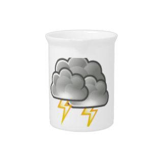 cloudy storm pitcher