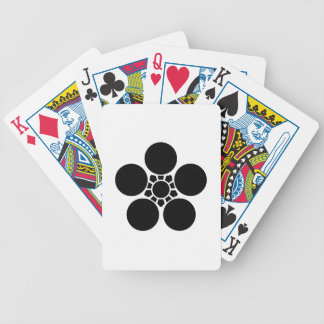 Clove plum bowl A Bicycle Playing Cards