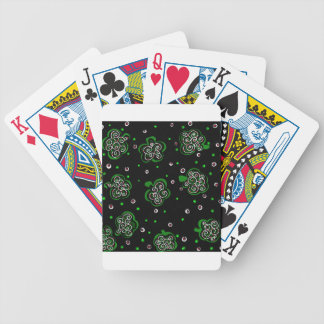 Clover Black Bicycle Playing Cards