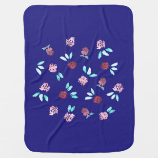 Clover Flowers Baby Blanket