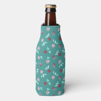 Clover Flowers Bottle Cooler