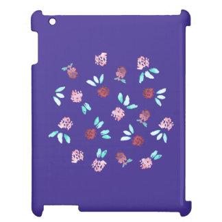 Clover Flowers Glossy iPad Case