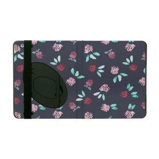 Clover Flowers iPad 2/3/4 Case with Kickstand