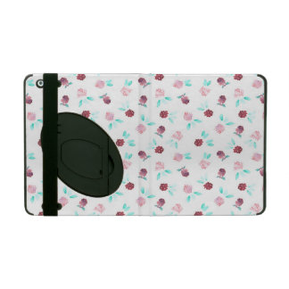 Clover Flowers iPad 2/3/4 Case with Kickstand iPad Folio Cover