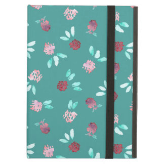 Clover Flowers iPad Air Case with No Kickstand