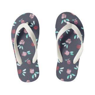 Clover Flowers Kids' Flip Flops