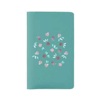 Clover Flowers Large Notebook