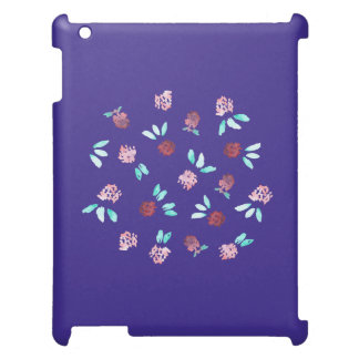 Clover Flowers Matte iPad Case